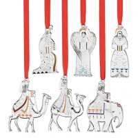 Reed & Barton Nativity Christmas Ornament Set - 6 Piece