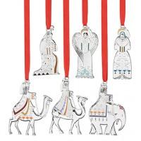 Reed & Barton Nativity Christmas Ornament Set - 6 Piece
