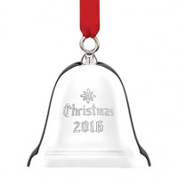 Reed & Barton Sterling Silver Engraved 2016 Christmas Bell - 32nd Edition