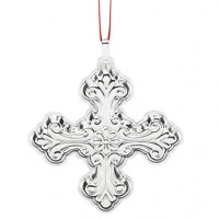 Reed & Barton Sterling Silver Christmas Cross Ornament 2016 - 46th Edition
