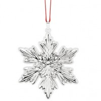 Reed & Barton Sterling Silver Holiday Snowflake Ornament 2016 - 4th Edition