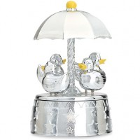 Reed & Barton Something Duckie Baby Musical Carousel