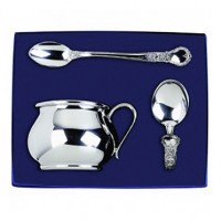 Salisbury 3-Piece Bulged Baby Cup Gift Set - Engravable
