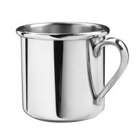 Salisbury Pewter Straight Edge Baby Cup - 5 oz