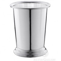 Plain Mint Julep Cup - Silver Plated