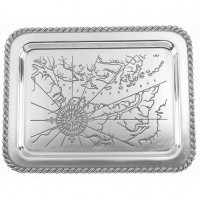 Salisbury Latitudes Chesapeake Bay Tray - Large