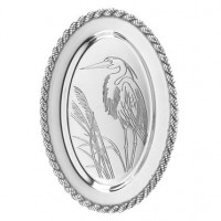 Salisbury Latitudes Oval Heron Tray - Medium