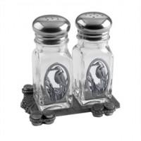 Salisbury Heron Salt & Pepper Shakers on Dock