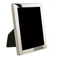 Salisbury Sterling Rectangle Sterling Silver Picture Frame - 3 x 4 - Available from SilverGallery.com