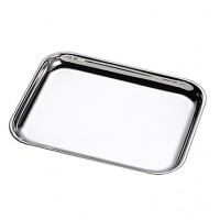 York Rectangular Sterling Silver Tray - 6""