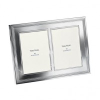 Vera Wang Grosgrain Double Invitation Frame - 5 x 7