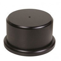 Black Wood Trophy Base - Round