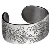 Salisbury Pewter Flower/Month Bracelet - December Narcissus