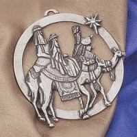 Salisbury Pewter Three Kings Ornament