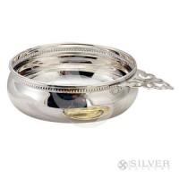 Empire Sterling Silver Beaded Baby Porringer