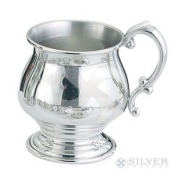 Empire Pewter Pedestal Baby Cup