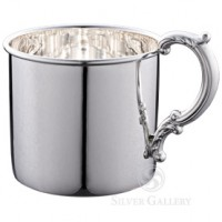 Empire Sterling Silver Classic Baby Cup