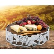Arthur Court Grape Cheese Pedestal - Large - Available from SilverGallery.com