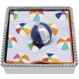 Mariposa Beach Ball Napkin Weight - Blue