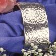 Chrysanthemum Cuff Bracelet-November