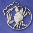 Salisbury Pewter Blue Crab Ornament