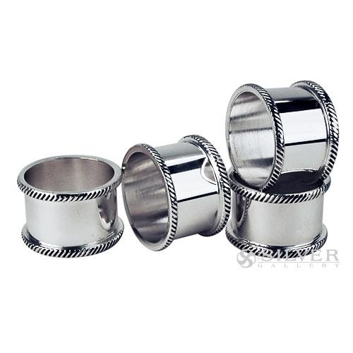 Boardmans Wedding Gift Registry: Silverplate Gadroon Napkin Rings