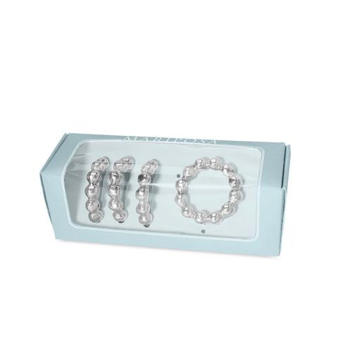 Boardmans Wedding Gift Registry: Mariposa Pearled Napkin Rings