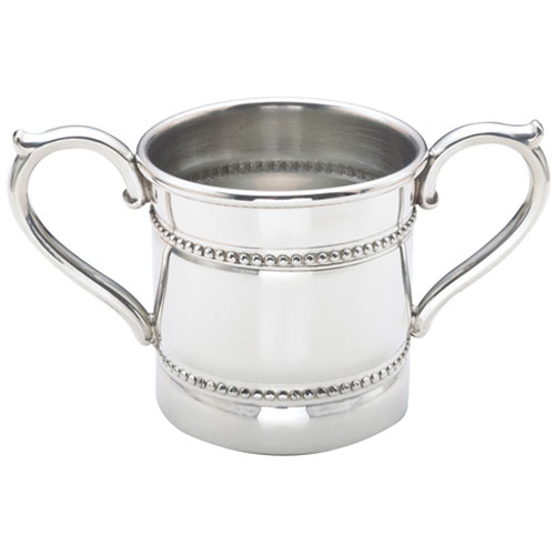 Reed And Barton Baby Beads Two Handled Baby Cup