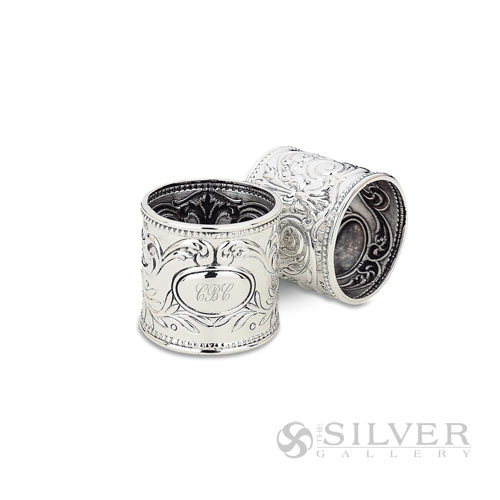 Boardmans Wedding Gift Registry: Reed And Barton Sterling Silver Gadroon Napkin Ring