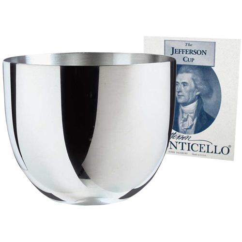 Salisbury Monticello Jefferson Pewter Cups