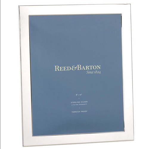 Boardmans Wedding Gift Registry: Reed And Barton Sterling Silver Narrow Border Picture