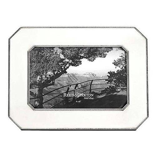 Boardmans Wedding Gift Registry: Reed & Barton Heritage Pewter Chamfered Edge Frame