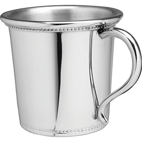 Salisbury Pewter Mississippi Baby Cup 5 Oz Expertly