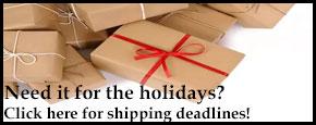 Holiday Shipping 2018
