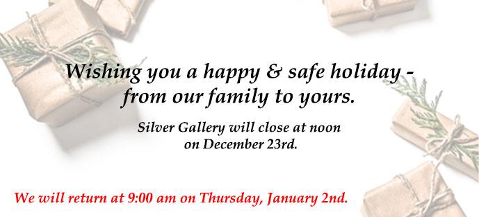 SG Holiday Closure